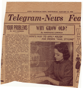 LynnTelegramAnnLanders1956